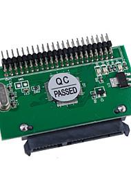 """sata naar 2.5 """"IDE male harde schijf adapter kaart (horizontaal)"""