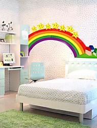 For Rainbow Loom Kids Wall Sticker (0752 -P6-27(B))