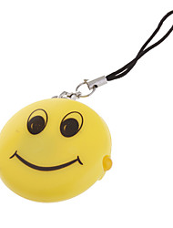 Smiley Shape LED Keychain Flashlight