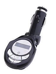 LCD MP3 Player Car FM Transmitter with IR Remote and USB Port