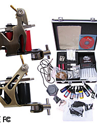 Professional Tattoo Machine Kit Completed Set With 2 Tattoo Machine Guns