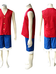 Cosplay Costume One Piece Luffy