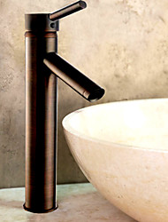 Oil Rubbed Bronze Bathroom Sink Faucet (Tall)