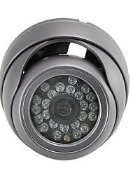 ccd 24 Câmera de segurança impermeável com cúpula vandalproof (se243)
