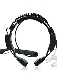 Hals-Mikrofon für Walkie-Talkies / 2-Wege-Radios (hv27) eingestellt