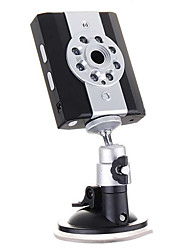 8-LED-IR-Nachtsicht Fahrzeugsicherheit av Camcorder (SD-Karte / DC12V/24V)