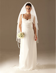 3 Layers Waltz Wedding Bridal Veil