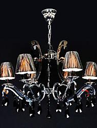 fer maishang® 6-lumière lustre en cristal (1069-ml-2100149-6d