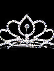 Gorgeous Alloy With Czech Rhinestones Wedding Bridal Tiara