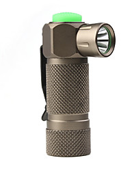 LED Flashlights/Torch / Handheld Flashlights/Torch LED 3 Mode 210 LumensRechargeable / Anglehead / Tactical / Super Light / Compact Size