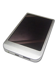 Solar Power for Mobiles, PDAs, Digital Cameras and MP3/MP4 Players (D001,1500mAh)