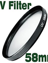 emolux uv filter 58mm beschermer