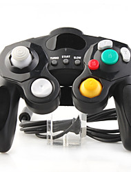 Wired Game Controller for Nintendo GC Gamecube Wii Black