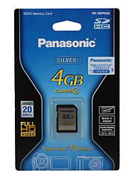 4GB Panasonic SDHC Memory Card (Class 4)