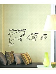 Shark Decorative Wall Sticker(0565-1105066)