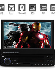 7 Inch 1Din Car DVD Player with GPS IPOD Bluetooth DVB-T RDS 3D