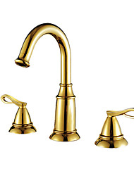 Bathroom Sink Faucets Antique Brass Ti-PVD