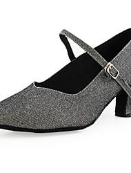Ткань верхней танцевать бальные туфли современной обувь для женщин