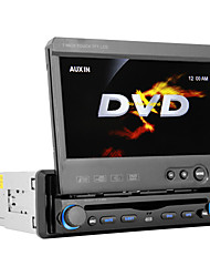 DVD Player Automotivo 7 polegadas Bluetooth Tela Destacável