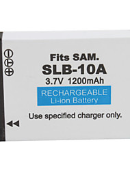 1200mAh Camera Battery SLB-10A for SAMSUNG L310W and More