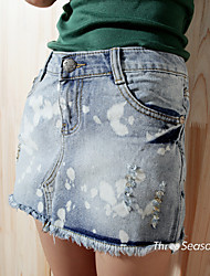 Women's Casual Denim Skirt