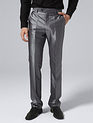 стали брюки серый костюм