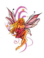 5 шт ангел водонепроницаемый временную татуировку (6 см * 6 см)