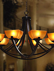 Antique Inspired Chandelier with 8 Lights