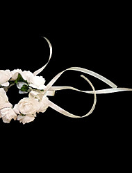Lovely White Paper Flower Wedding Flower Girl/Bridal Wrist Flower