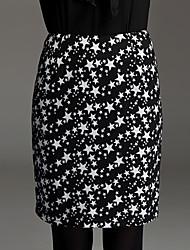ts Star Print tricot jupe