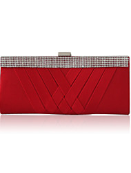 Silk With Crystal/ Rhinestone Evening Handbags/ Clutches More Colors Available
