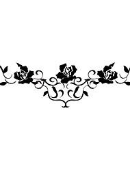 Водонепроницаемые, временные татуировки, роза (14м * 4 см), 5 шт.