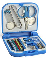 los viajes de coser y un kit de aguja