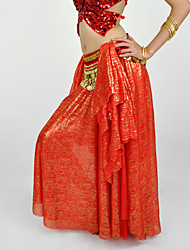 Belly Dance Skirts Women's Performance Chiffon 1 Piece Dropped Skirt