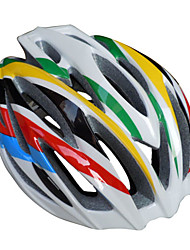 New Design MTB And Road Helmet With 27 Holes Colorful