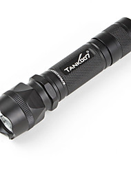 LED Flashlights/Torch / Handheld Flashlights/Torch LED 1 Mode 225 LumensWaterproof / Rechargeable / Impact Resistant / Tactical /