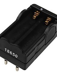 Digital Li-Ion Battery Charger EU Plug For 2x18650