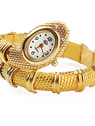 Damen Quartz Band Armreif Gold Marke-