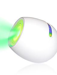 mini couleur conduit lumière d'ambiance avec écran tactile barre de défilement (blanc)