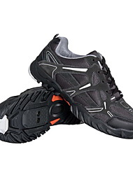 Cycling MTB SPD Shoes & Casual Shoes With Cowsuede Leather And Breathable Mesh Upper