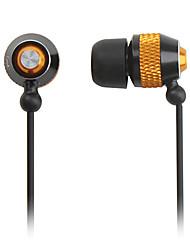 Elegant In-Ear Stereo Earphones (Gold)