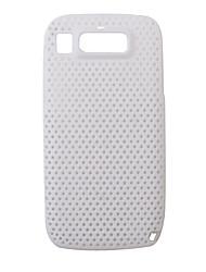 caixa de plástico de proteção líquido para Nokia E72 (branco)