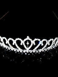 Women's Alloy Headpiece-Wedding / Special Occasion Tiaras Clear Square Cut