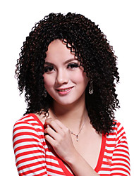 Capless Medium Top Grade Synthetic Curly Wig