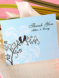 Thank You Card - Spring (Set of 50)