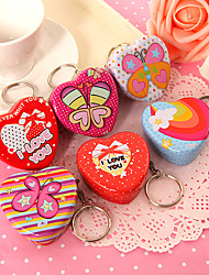 12 Heart Shaped Mint Tins (2/Each Style)