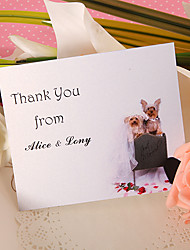Thank You Card - Cute Doggie (Set of 50)