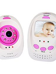 """2,4 GHz inalámbrico digital IR de visión nocturna de monitor de bebé con 2,4 """"TFT LCD"""