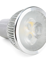 GU10 LED Spotlight MR16 3 High Power LED 310 lm Warm White Dimmable AC 220-240 V