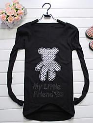 Nail Long Sleeve Bear T-shirt